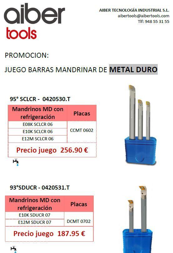 PROMOCION JUEGO BARRAS DE MANDRINAR MDI